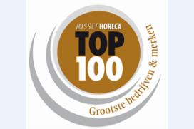 Misset Horeca Top 100 Grootste Bedrijven en Merken 2014 nr.1 t/m 10