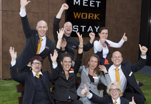 Sprankelend team Postillion Deventer wint Dutch Hotel Award 2014