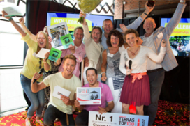 Wollebrand wint Terras Top 100 2014