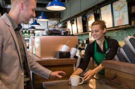 Starbucks opent op Tilburg University