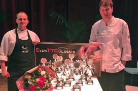 Gelegenheidsduo pakt tien prijzen bij koude klasse EvenTT Culinair 2015