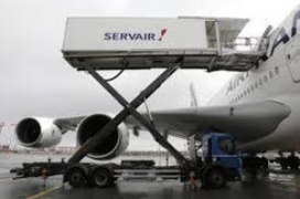 Luchtvaartcateraar Servair in de verkoop