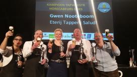 Gwen Nooteboom beste biertapper van de eerste regiostrijd