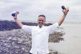 Edwin Vinke start met verkoop zeewaterproducten