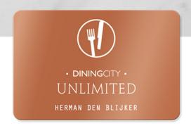 Kortingskaart voor sterzaken van Dining City