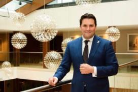Sjoerd Sybesma nieuwe hotelmanager Hilton The Hague