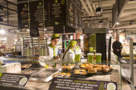 Supermarkt met horeca in Arnhem