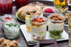 Biologische yoghurt in restaurant Meander Medisch Centrum