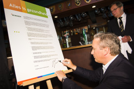 Heineken en NOC*NSF in actie voor verantwoord alcoholgebruik kantine