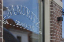 Horecainterieur: Grand Café Mauritz