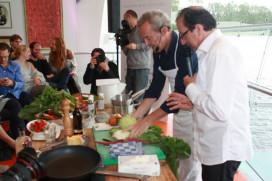Franse groentechef Passard*** in Nederland