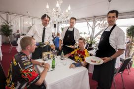 Catering Zwarte Cross: van 'broodje schoap' tot steak tartare van Roodbont-koe