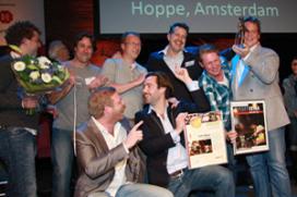Fotoverslag Café Top 100: de prijsuitreiking