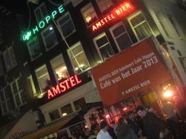 Gastvrijheidsbeeld voor winnend Café Hoppe