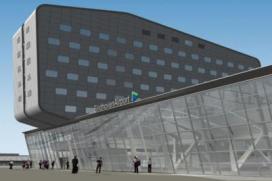 Beelden nieuw luchthavenhotel Eindhoven