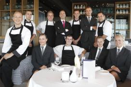 Fotoverslag restaurant élevé in WestCord WTCHotel Leeuwarden