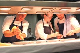 Foto's: Holland-promotie: Boerma kookt op Sylt