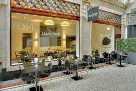 Foto's choco-hotspot Den Haag
