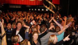 Sfeerimpressie Cafetaria Top 100-Event
