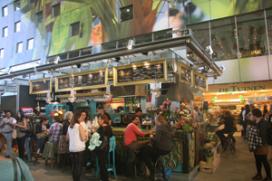 Foto's eerste vrijdag Markthal Rotterdam