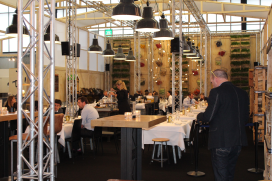 Foto's: sneak preview Roast Room Horecava