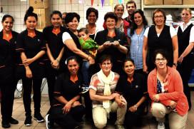 Facilitair team Chateau St. Gerlach wint EW Service Award