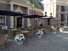 Terras Top 100 2015 nummer 6 Grandcafé Groeneveld, Baarn