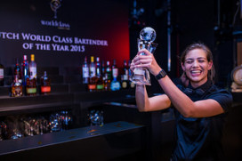Tess Posthumus beste bartender van Nederland