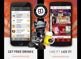 BarDoggy-app laat gebruikers likken