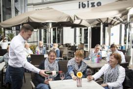Jonge honden van Ibiza veroveren plek 4 Terras Top 100