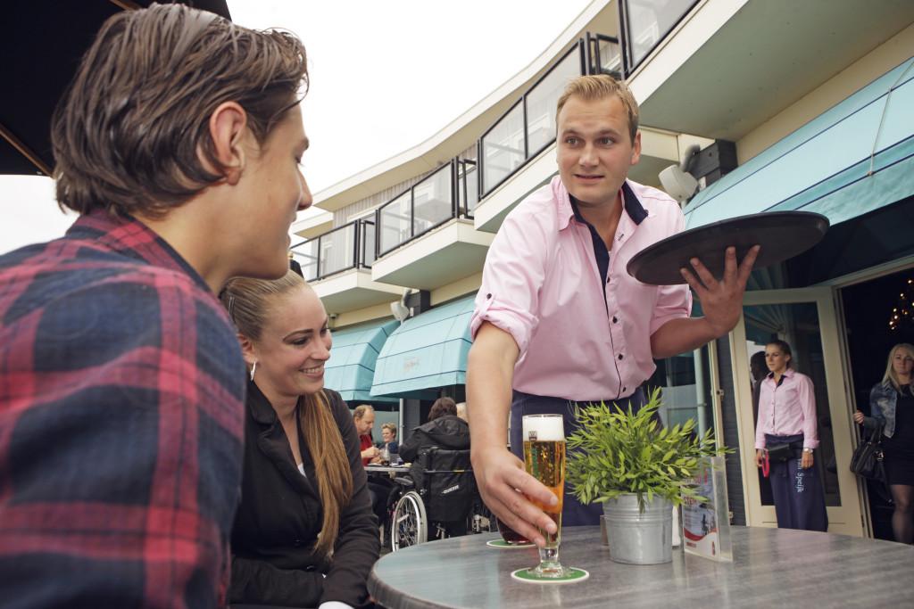 Restaurant Van Speijk Egmond aan Zee Arnoud en Alexandra Schimmel, Terras Top 100