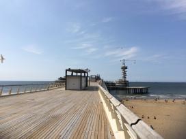 De Pier Scheveningen zaterdag weer deels open