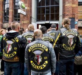 Satudarah zonder clubjas naar Korenmarkt Arnhem