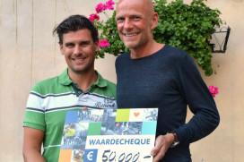 EW Facilities haalt €50.000 op voor Barcode for Life