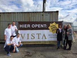 Horecapaar van 't Raadhuis slaat eerste paal voor Vista restaurant & food bar