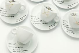 Yoko Ono ontwerpt kopjes voor illy