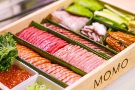 Restaurant Momo Amsterdam komt met sushi 'to-go'