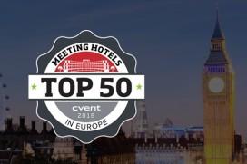 Zes Amsterdamse namen in Europese top 50 vergaderhotels