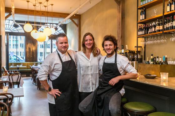 AMSTERDAM - Restaurant Breda aan 't Singel. FOTO: DIEDERIK VAN DER LAAN