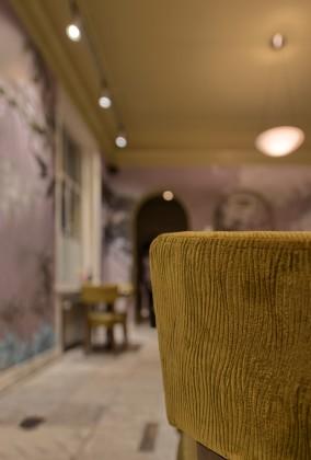 Estida fabers alkmaar interieur groene zaal detail stoel 284x420