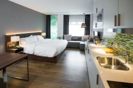 Element Amsterdam: Extended stay met keuken op de kamer