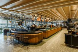 8e Starbucks op Schiphol: slow coffee, alcohol en gerechten