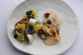 Recept Kromme Watergang**: zeebaars en asperge