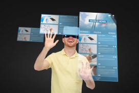 Eerste virtual reality restaurant in Nederland