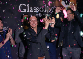 Bartender Robert Schinkel wint Glassology Design Contest