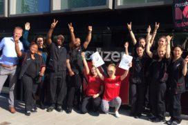 EW Service Award voor facilitair team citizenM Amsterdam