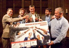 Vier cateraars voor Domtoren Utrecht