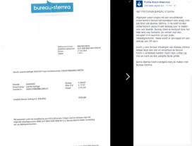 Politie waarschuwt ondernemers voor nep-facturen 'Bureau-Stemra'