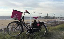 Foodora breidt (strand)dienst uit naar Den Haag