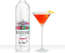 In the mix: Belvedere Red Martini